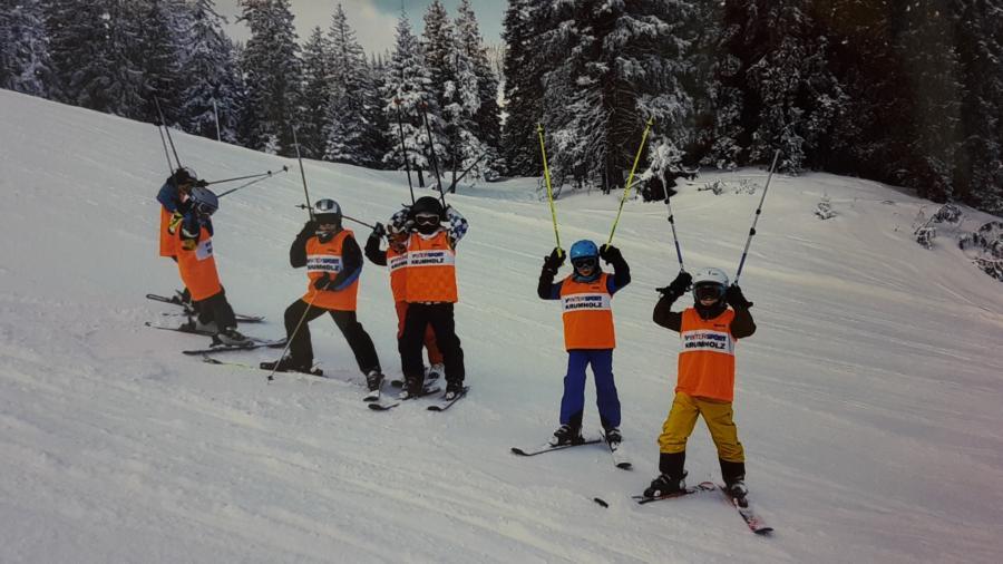 Skifahrt Kinder
