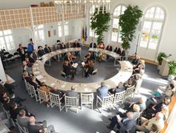 Besuch einer Skipton Delegation in Simbach