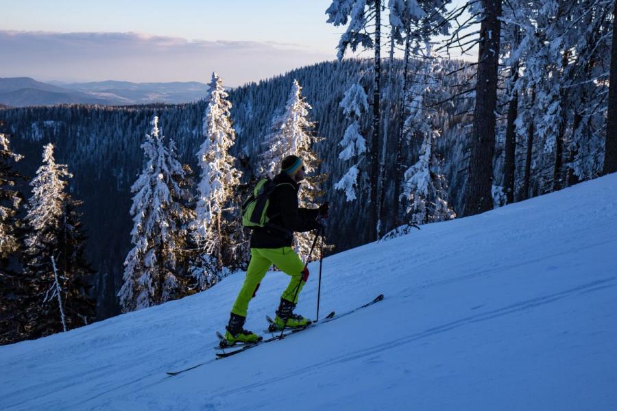 Skitour zum Großen Arber