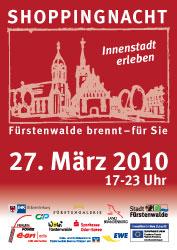 Plakat Shoppingnacht 2010