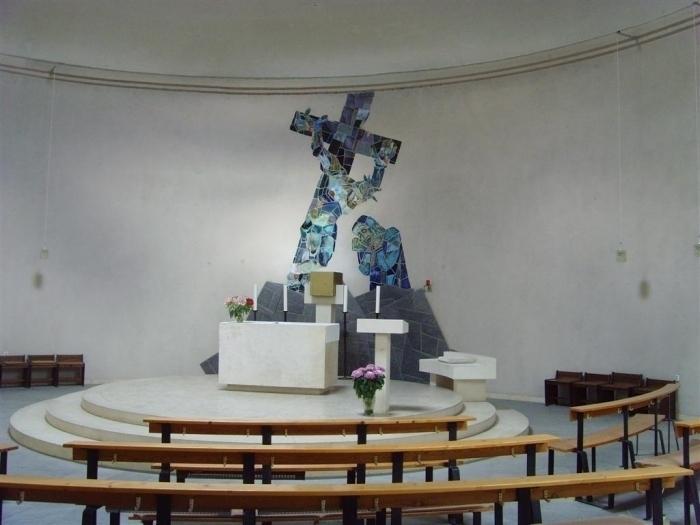 Altarbild als Mosaik