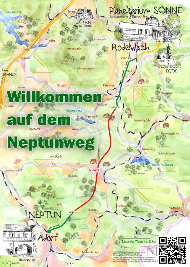 Wegbeschreibung Neptunweg