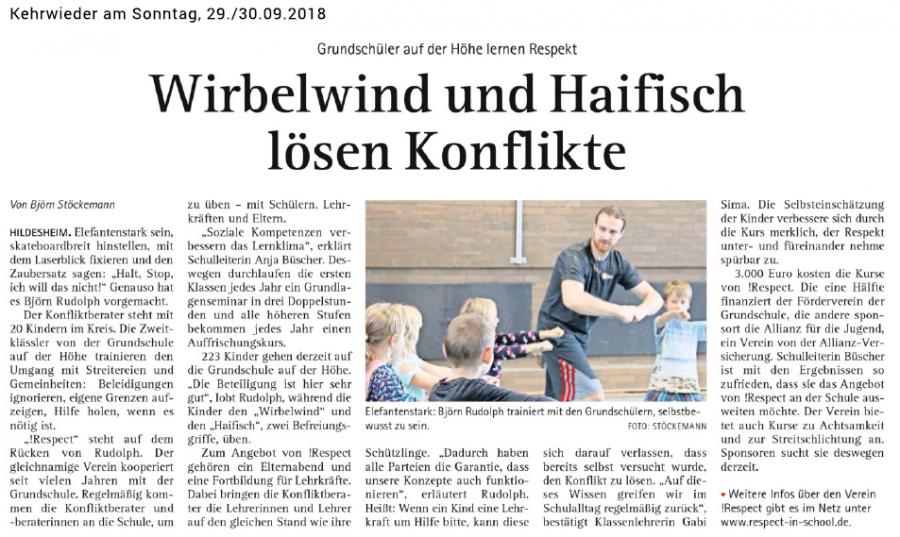 """!social skills"" - 2018 - Artikel im Kehrwieder"