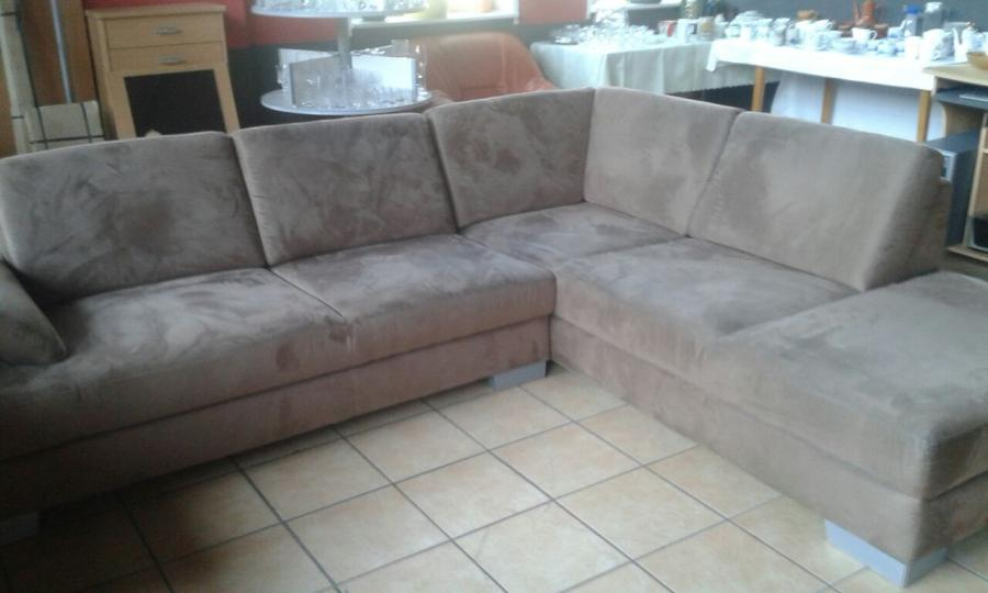 Sofa dunkelbraun