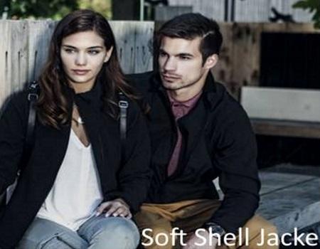 Soft-Shell-Jacke