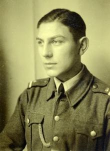 """Soldat Willi Predöhl 1945 (16 Jahre """"alt"""")"""