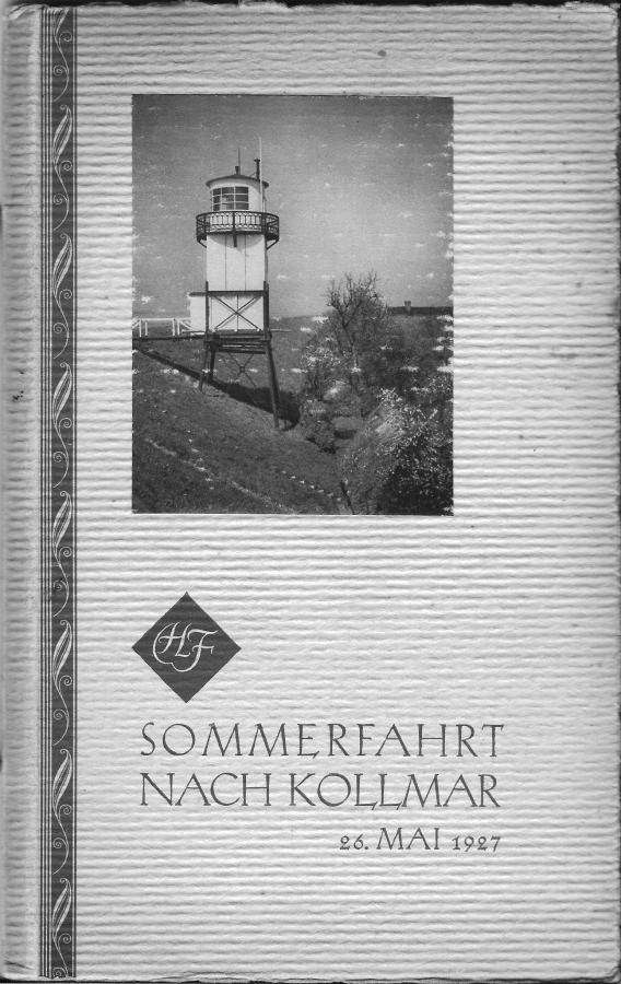 Sommerfahrt nach Kollmar 1927