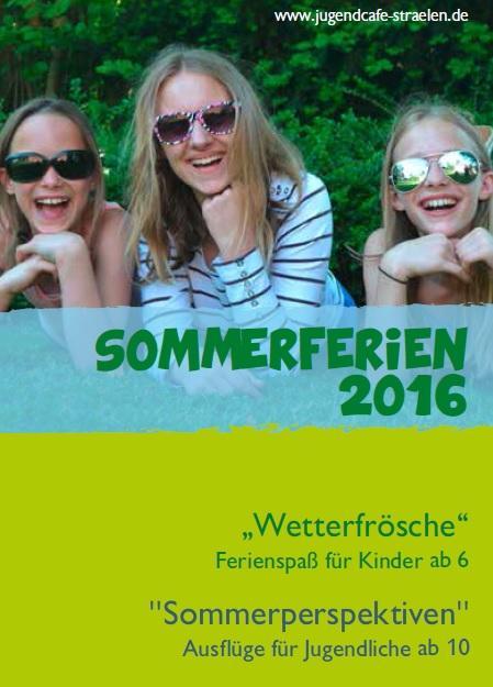 Sommerferienprogramm 2016