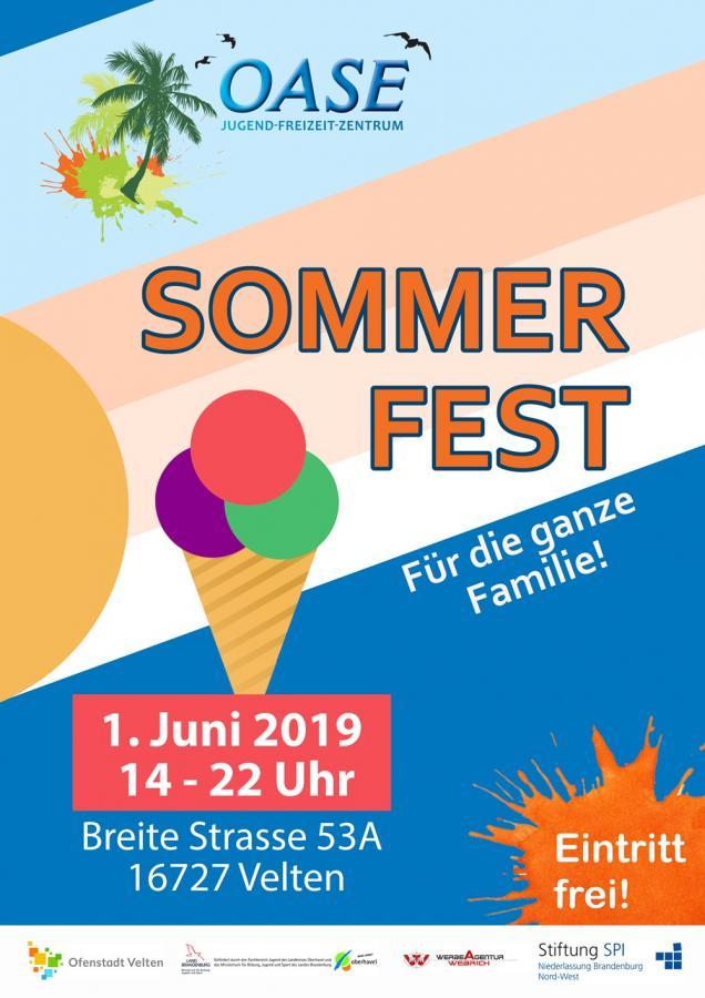Sommerfest Oase