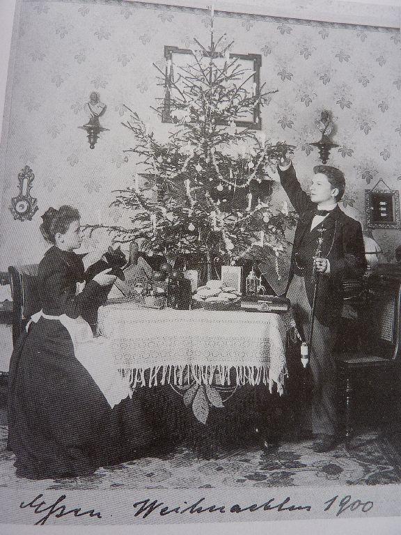 Weihnachten 1900