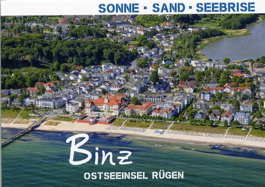 Sonne - Sand - Seebriese  Binz
