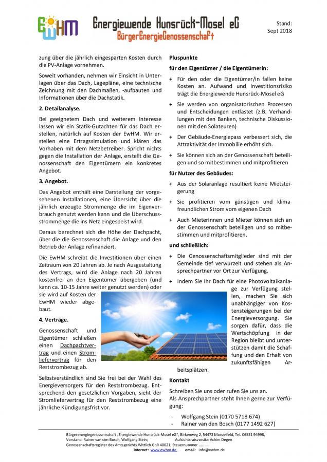 Sonne sucht Dach, Seite 2