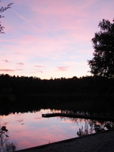 Sonnenuntergang am Frauensee