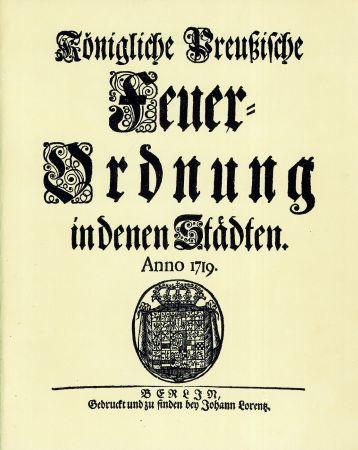 Feuer Ordnung Anno 1789