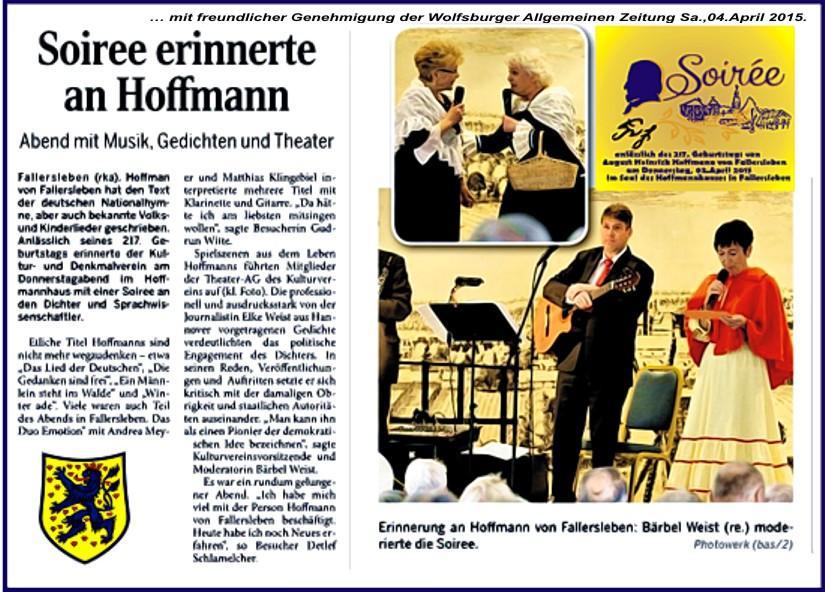 Hoffmann-Soiree 2015