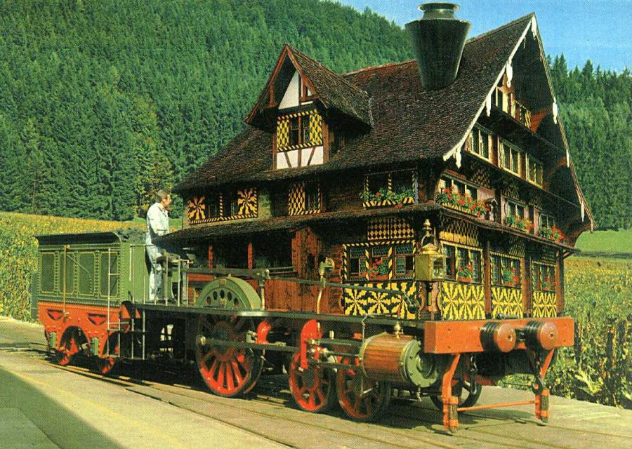 Spanisch-Brötli-Bahn-Häuschen 1997