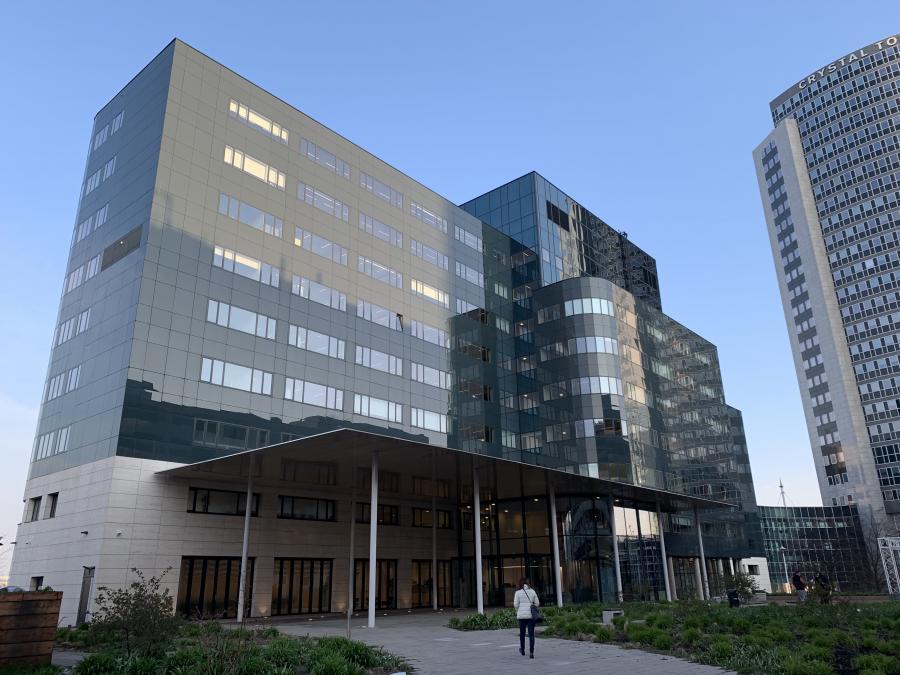 Im SPARK-Gebäude befinden sich derzeit übergangsweise die Büros der EMA