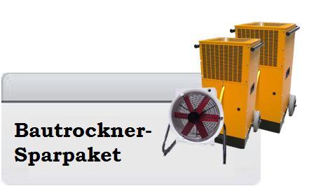 Bautrockner- Sparpaket