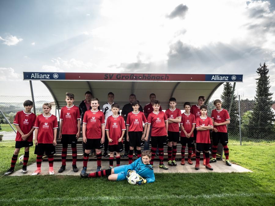 Die D-Jugend in der Saison 2017/2018