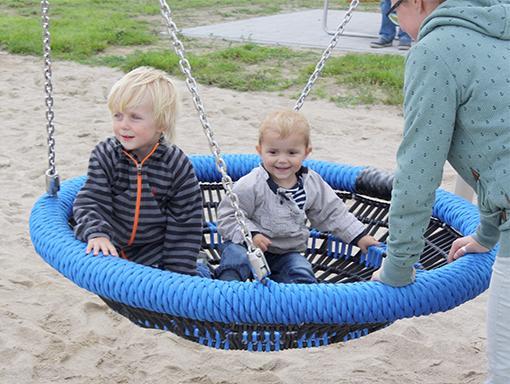 Spielplatzeinweihung an der dänischen Kirche 13