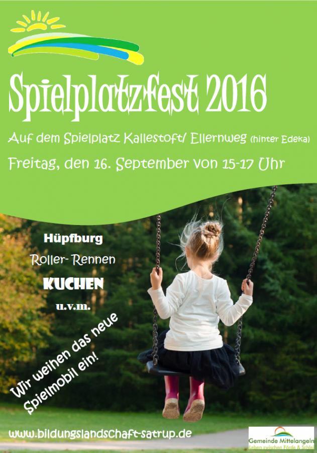 Spielplatzfest 2016