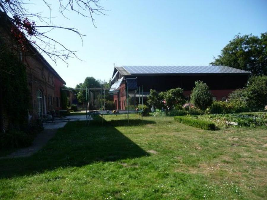Lüdershagen Spielwiese auf dem Hof