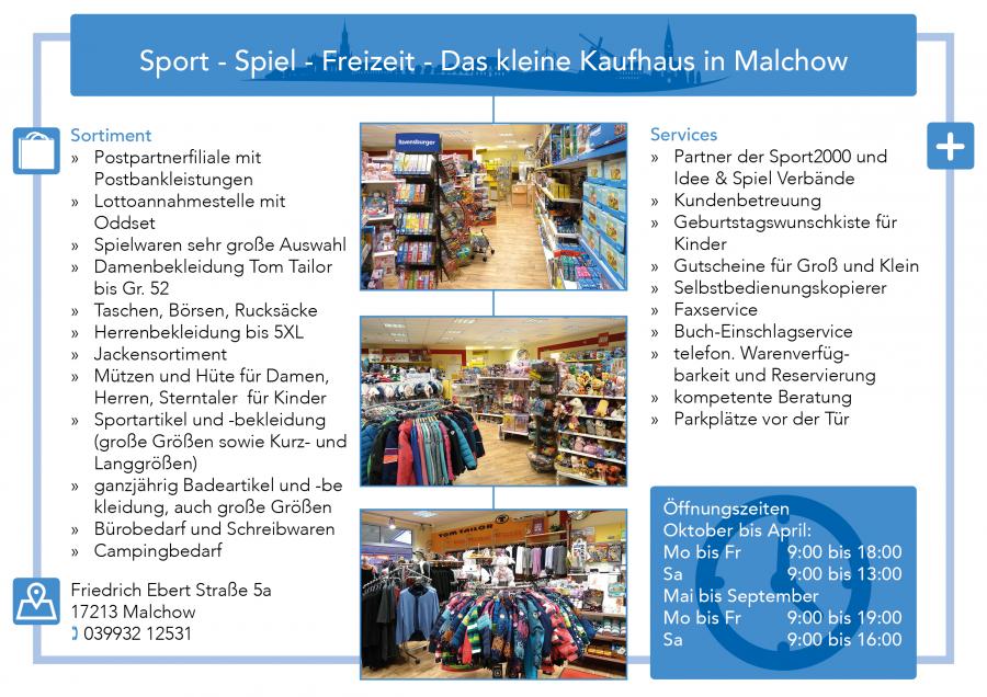 Sport Spiel Freizeit Malchow