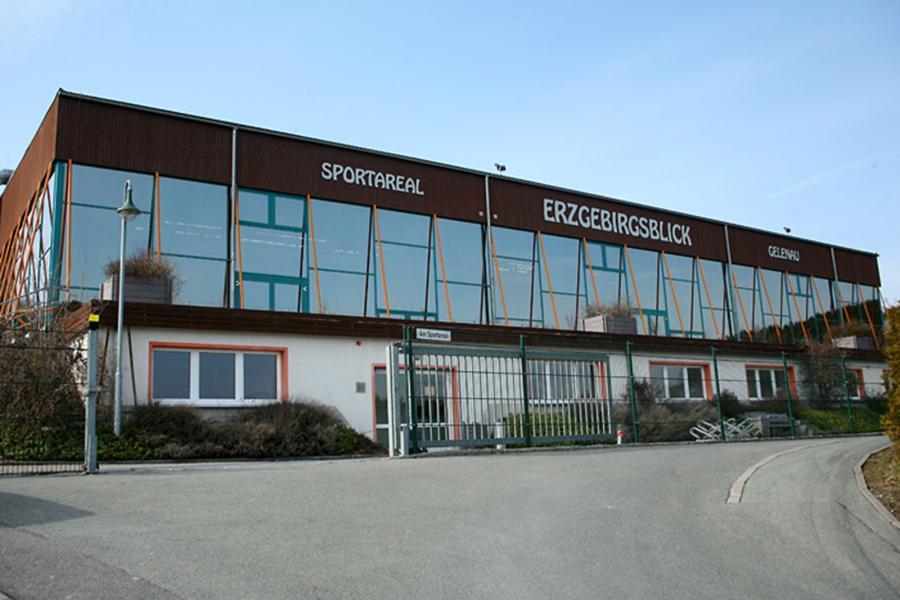 Sportareal Erzgebirgsblick, Bert Brecht Straße 11  09423 Gelenau