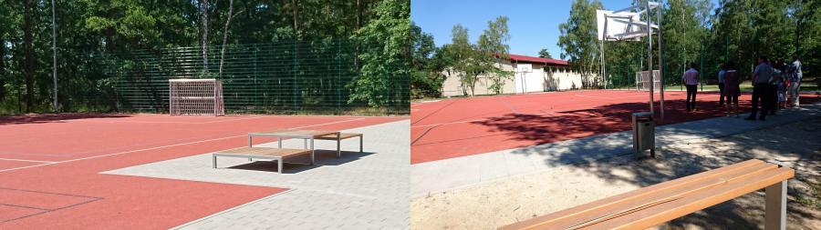 Sportfeld Berggrundschule