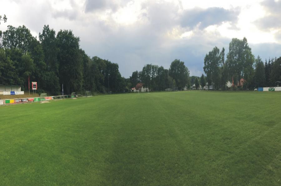 Wandlitz Sportplatz; Foto: 1. FC Eintracht Wandlitz