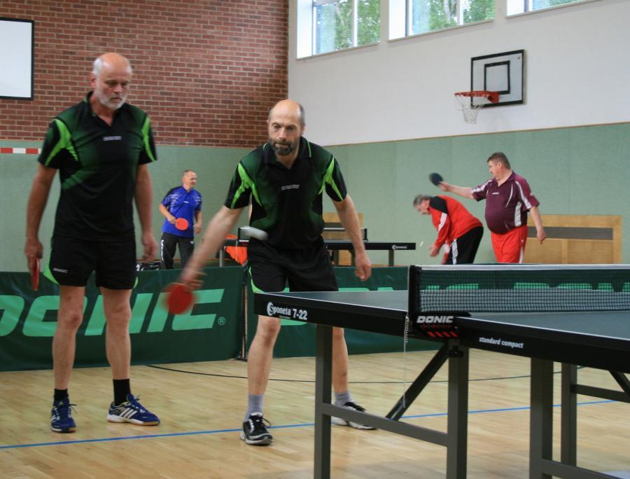 Sportwoche 2015-Herren Doppel Steffen Luft und Uwe Rückwardt