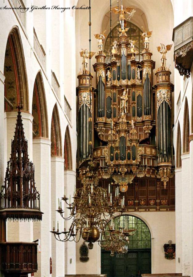 St Marien Stralsund Stellwagen-Orgel 1659