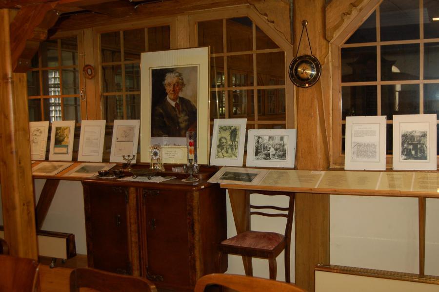 Dorfgeschichtliche Stuben - Kunstmaler Dr.Gans