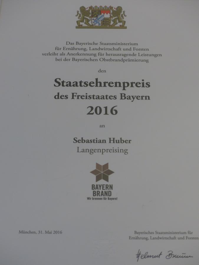 Staatsehrenpreis 2016