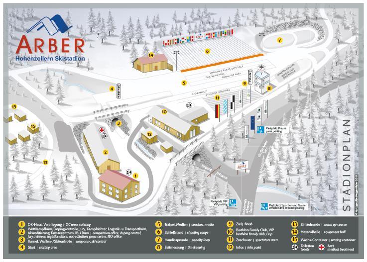 Stadionplan Winter