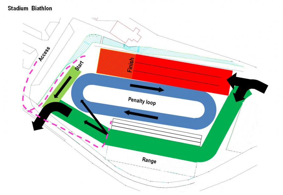 Stadium Biathlon