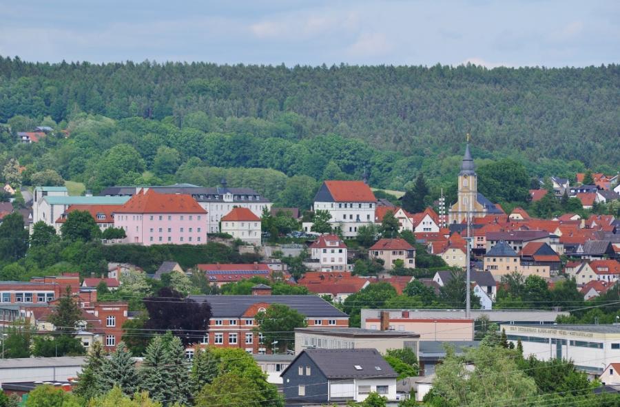Burgkunstadt - Stadtsilhouette