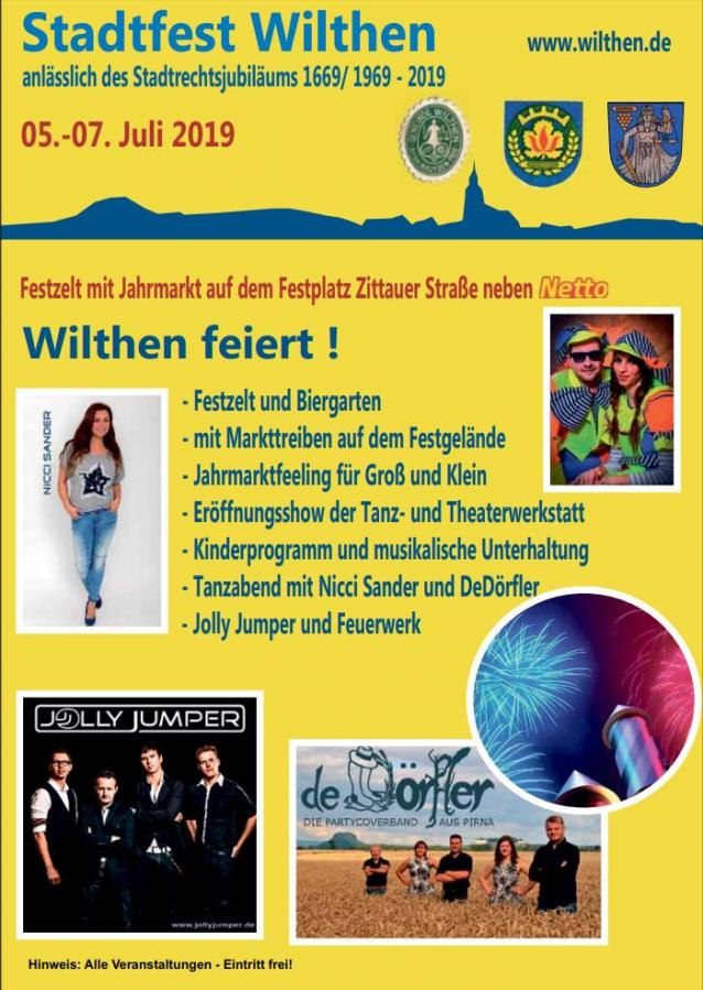 Stadtfest Wilthen 2019