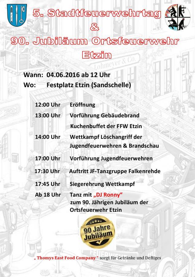 Stadtfeuerwehrtag 2016