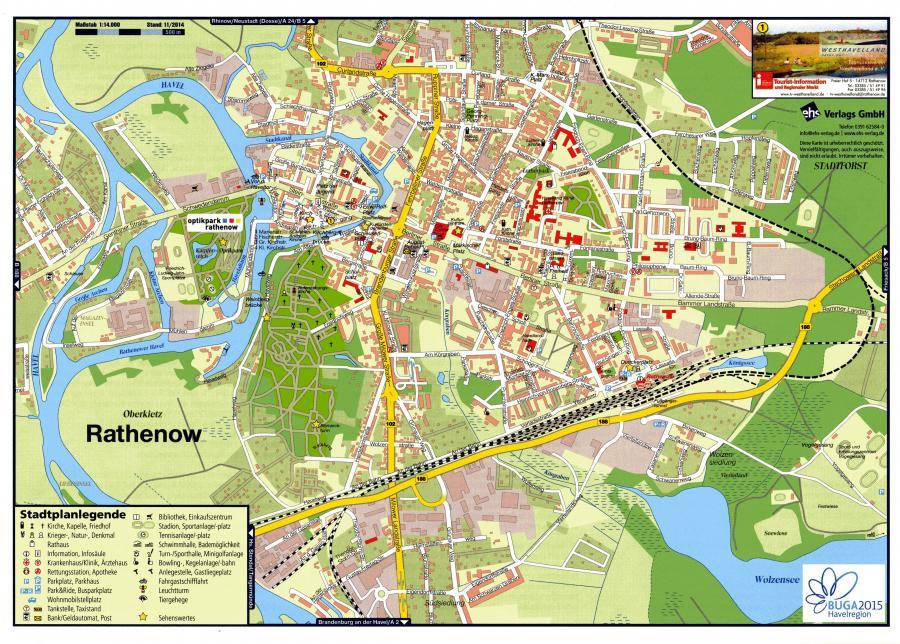 Stadtplanauszug