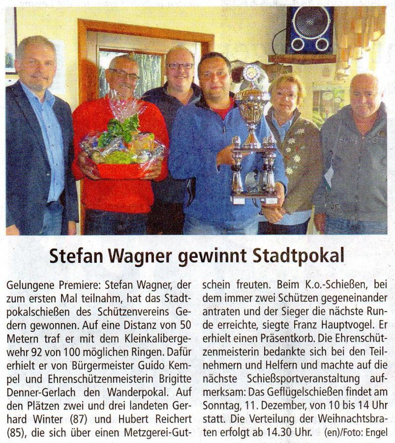 Stadtpokal 2016