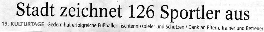 Stadtpokal 2017