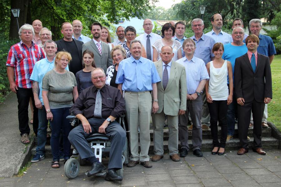 Unsere Stadtverordnetenversammlung im Sommer 2014