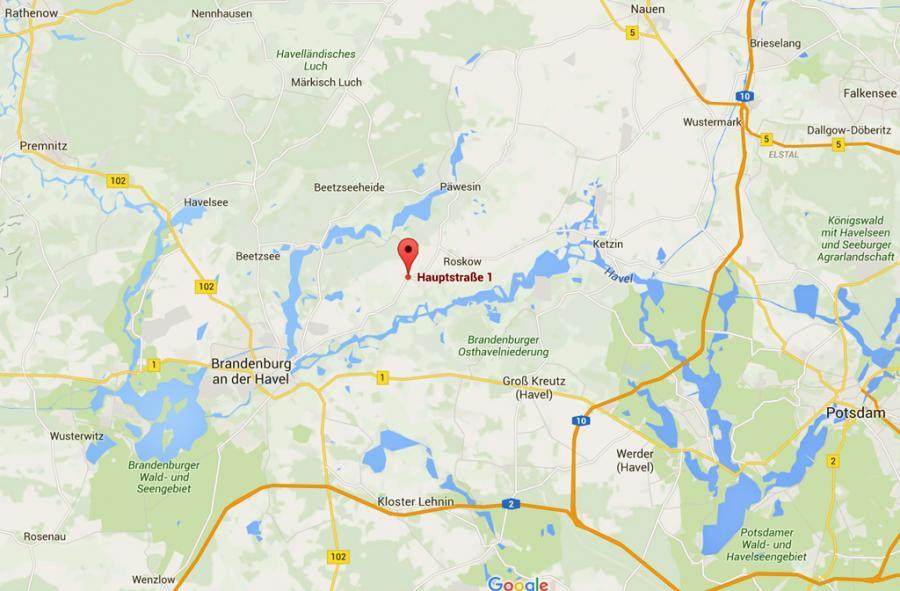 Standort nach google maps