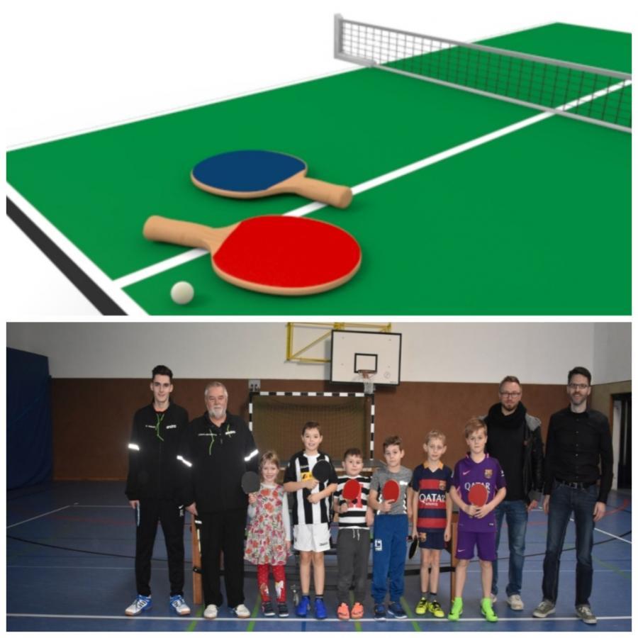 Start Tischtennis-AG