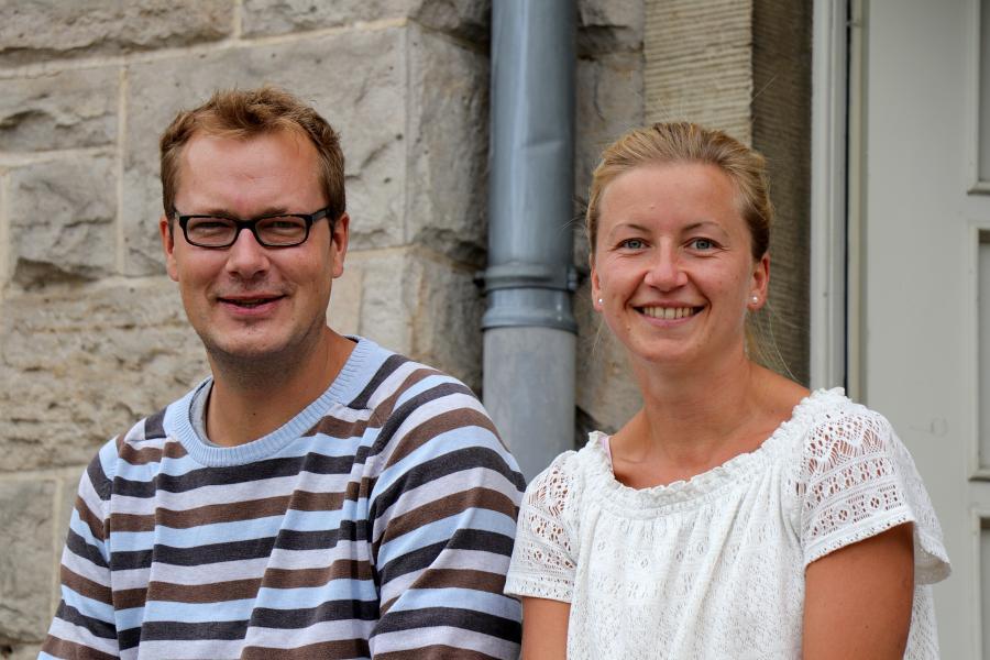 Steffen Grede und Stefanie Gimbel