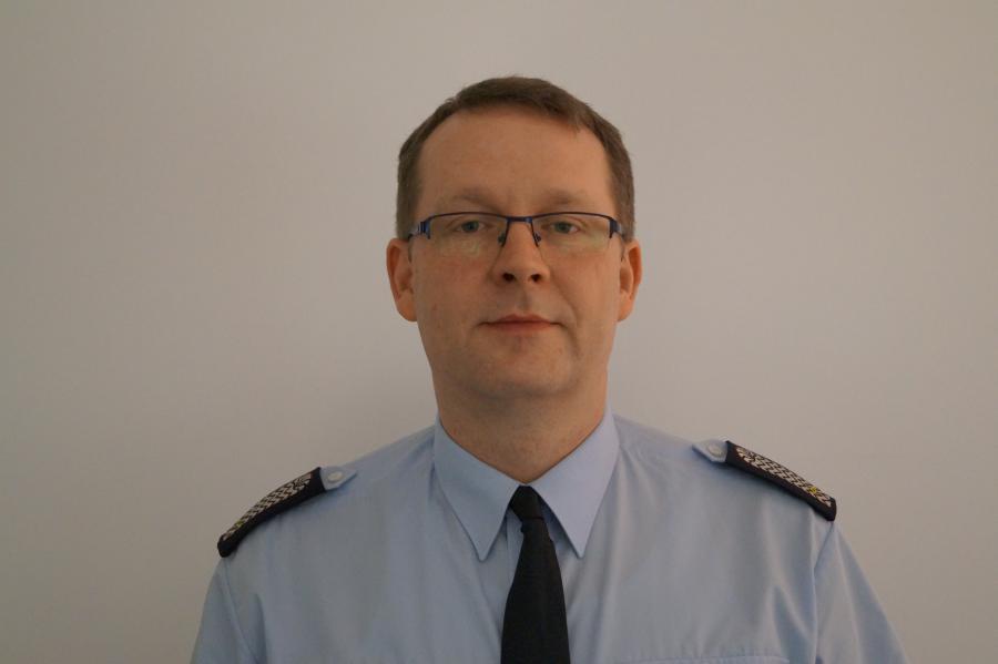 Ortswehrführer Steffen Schmolling