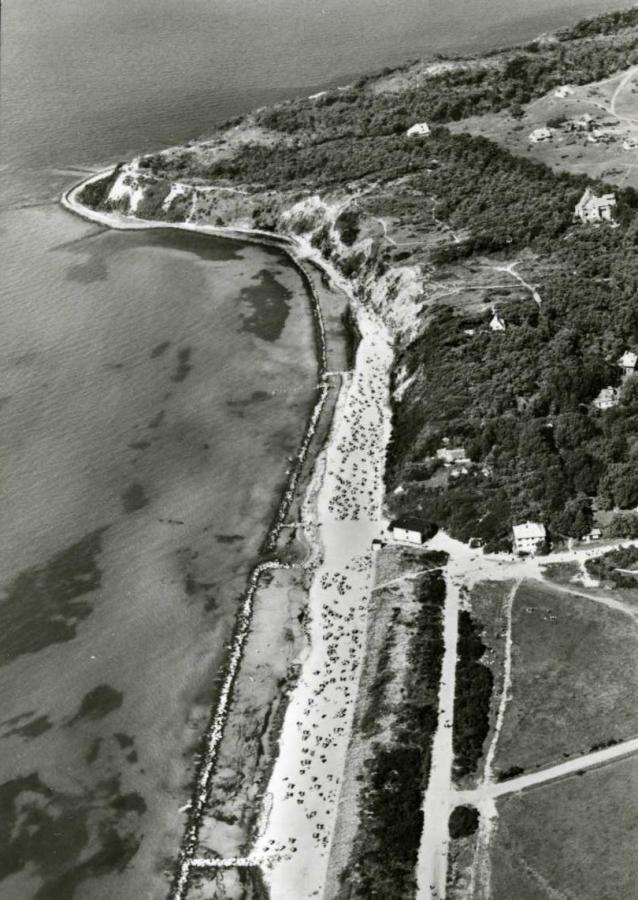 Steilküste auf Hiddensee 1972