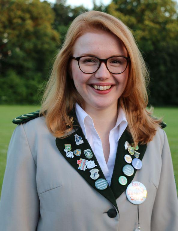 Stellvertretende Schatzmeisterin Anna-Lena Böhrs 2017