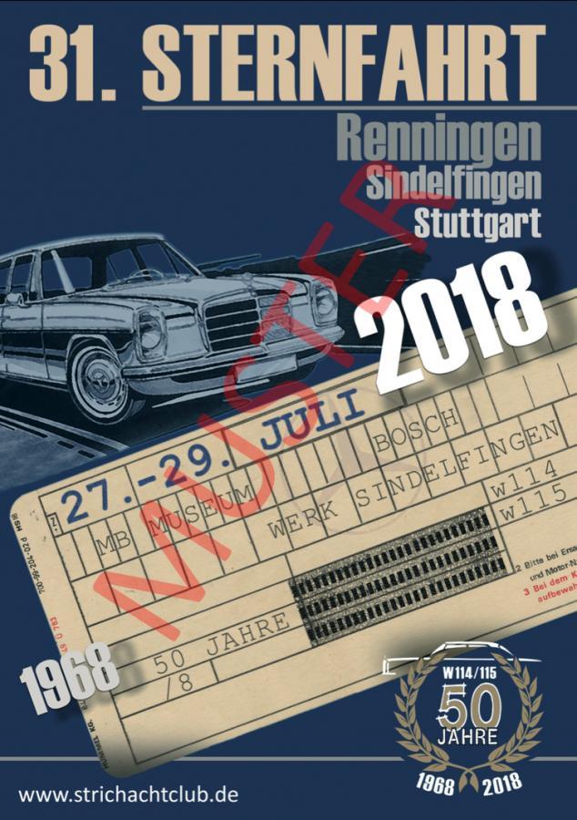 Bestellung Poster 31.Sternfahrt